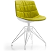 MDF Italia – Flow Chair LEM 4-legged Base Padded by Jean-Marie Massaud