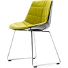 MDF Italia – Flow Chair Sled Base Padded by J. M. Massaud