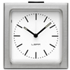 LEFF - Block Alarm Clock White Index by Erwin Termaat