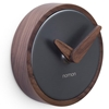 Nomon - Atomo Wall Clock Graphite