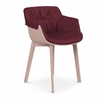 MDF Italia – Flow Slim Color - 4-legged Cross Base XL - Padded by Jean Marie Massaud