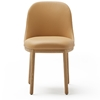 Viccarbe - Aleta Chair Wooden Base by Jaime Hayon