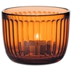 Iittala - Raami Tealight Candleholder 90mm Seville Orange by Jasper Morrison